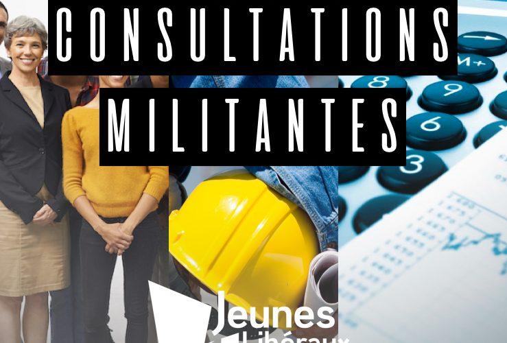 Consultation militante: Immigration, travail et finance