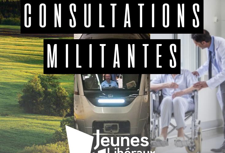 Consultation militante: Environnement, transports, santé